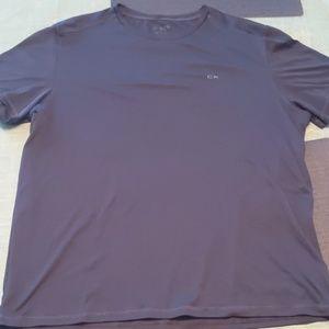Calvin Klein Dri Fit Navy Blue Tee Size XL